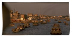 Suzhou Grand Canal Beach Towel