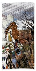 Sw Indian Beach Towel
