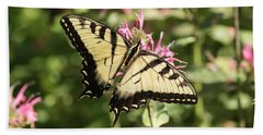 Swallowtail Butterfly 2016-1 Beach Sheet by Thomas Young