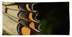 Swallowtail Butterfly Wing Beach Towel