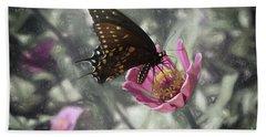 Swallowtail In A Fairytale Beach Towel