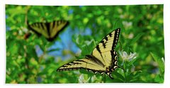 Swallowtails Beach Towel