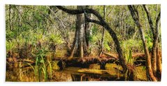 Swamp Life II Beach Towel