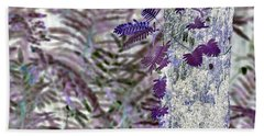Ferns Of A Different Color Beach Towel