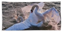 Nuptial Dance 3 Beach Towel