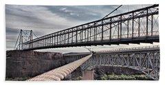 Swayback Suspension Bridge Beach Sheet