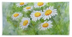 Swaying Daisies  Beach Towel