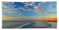 Sweeping Ocean View Beach Sheet