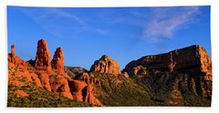 Beach Towel featuring the photograph Sweeping Sedona by Mark Myhaver
