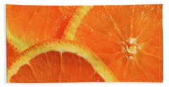Sweet And Juicy Beach Towel by Mariarosa Rockefeller