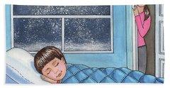 Sweet Dreams Little Boy Beach Towel