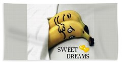 Sweet Dreams Beach Sheet by Sheila Mcdonald