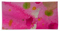Beach Towel featuring the painting Sweet Dreams by Tracy Bonin