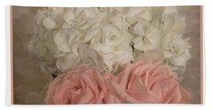 Sweet Flower Friends Beach Towel