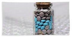 Sweet Happy Pills Beach Sheet