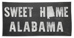 Sweet Home Alabama Beach Towel by Nancy Ingersoll