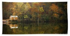 Beach Towel featuring the photograph Sweet Home by Iris Greenwell
