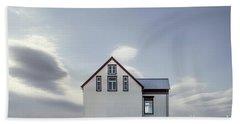 Sweet House Under A White Cloud Beach Towel