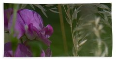 Sweet Pea 1 Beach Towel