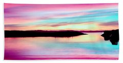 Sweet Sunset Beach Towel