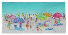 Sweet Sweet Summer Beach Sheet by Jan Matson