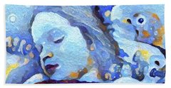 Sweetest Of Dreams Beach Towel by Linda Weinstock