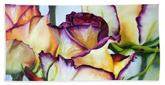 Sweetheart Roses Beach Sheet