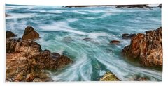 Beach Towel featuring the photograph Swept Away by Dan McGeorge