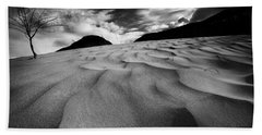 Beach Towel featuring the photograph Swerves And Curves In Jasper by Dan Jurak