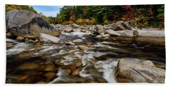 Swift River Autumn Nh Beach Sheet