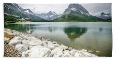 Swiftcurrent Lake Beach Sheet