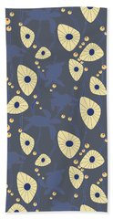 Swimming Turtles Blue Beach Towel