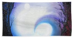 Swirl Of Fog Beach Sheet