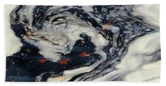 Swirling Current Beach Towel