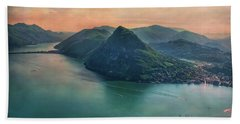 Beach Towel featuring the photograph Swiss Rio by Hanny Heim