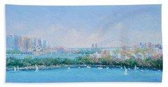 Sydney Harbour Bridge - Sydney Opera House - Sydney Harbour Beach Towel