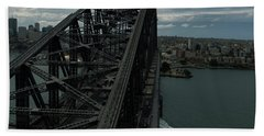 Sydney Harbour Bridge View From Tower Beach Towel