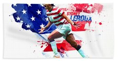 Sydney Leroux Beach Towel