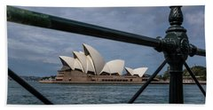 Sydney Opera House Beach Towel