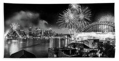 Sydney Spectacular Beach Sheet by Az Jackson