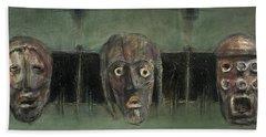 Symbol Mask Painting - 05 Beach Sheet