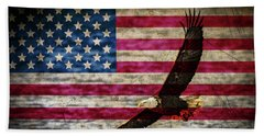 Symbol Of Freedom Beach Towel