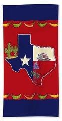 Symbols Of Texas Beach Sheet
