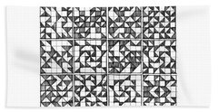 Symmetry Beach Sheet