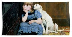 Sympathy Beach Towel by Briton Riviere