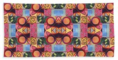 Synchronicity - A  T J O D 1 And 9 Arrangement Beach Towel
