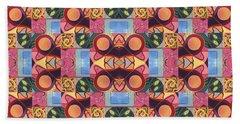 Synchronicity - A  T J O D 1 And 9 Arrangement Beach Towel