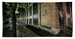 Beach Towel featuring the photograph Syracuse Sidewalks by Everet Regal