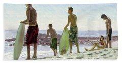 Table Rock Skimboarders Beach Towel