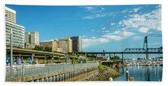 Tacoma And 11th Street Bridge Beach Sheet